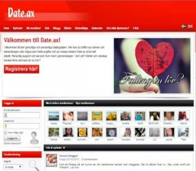 Dating online-registrering