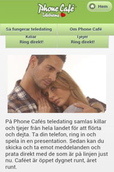Phonecafe.se-appen